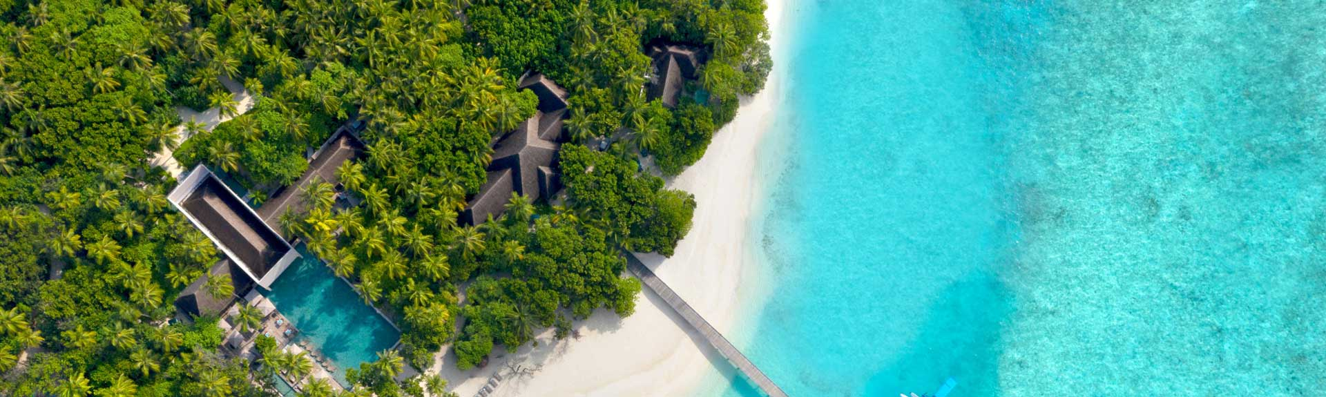 Bird's eye view of Vakkaru Maldives