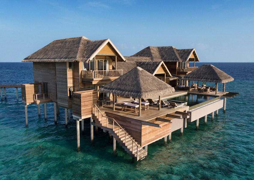 Vakkaru Maldives Four Bedroom Over Water Pool Residence