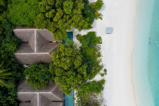 Vakkru Maldives Two Bedroom Beach Pool Villa  with beach access