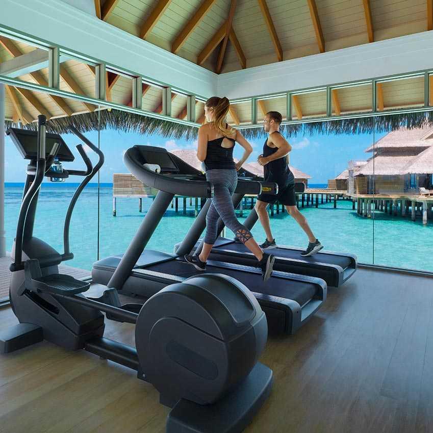 Gym at Vakkaru Maldives