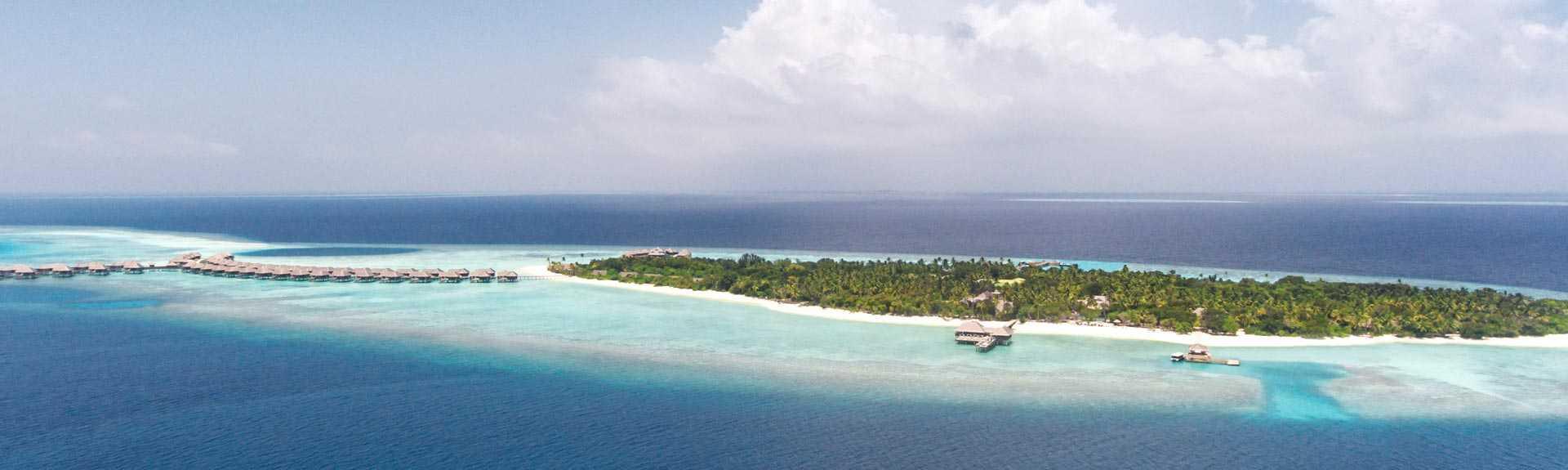 Vakkaru Maldives Island Ariel View