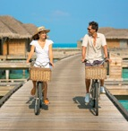 Couple Bicycle Ride