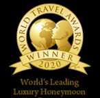 Worlds Leading Luxury Honeymoon Resort 2020 Winner Shield